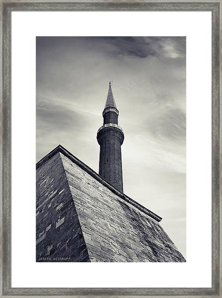 At Mosque-point Framed Print