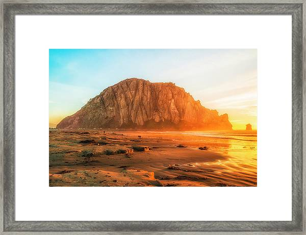 At The Beach Framed Print by Fernando Margolles