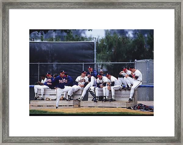 Atlanta Braves Framed Print