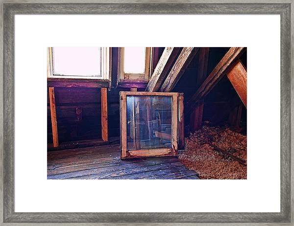 Attic #1 Framed Print