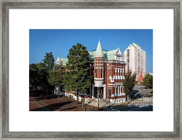 Augusta Cotton Exchange - Augusta Ga Framed Print