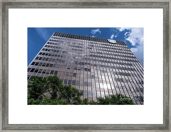 Augusta University Building 1 Framed Print