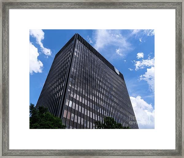 Augusta University Building 2 Framed Print