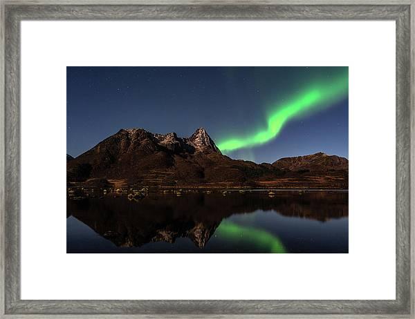 Aurora Reflexions Framed Print