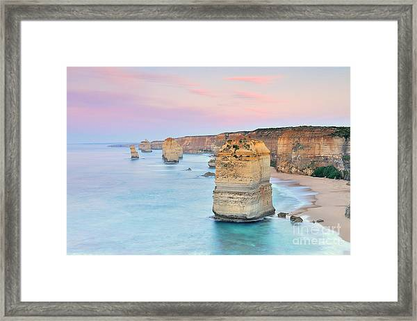 Australia Landscape  Great Ocean Road - Framed Print