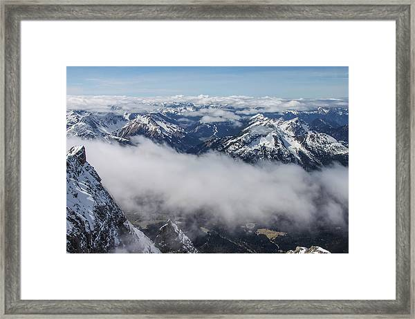 Framed Print featuring the photograph Austrian Alps by Dawn Richards