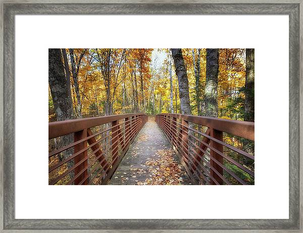 Autumn At Frog Bay  Framed Print