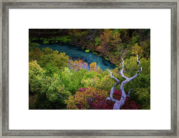 Autumn At Ha Ha Tonka State Park Framed Print