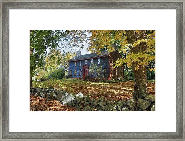 Autumn At Short House Framed Print