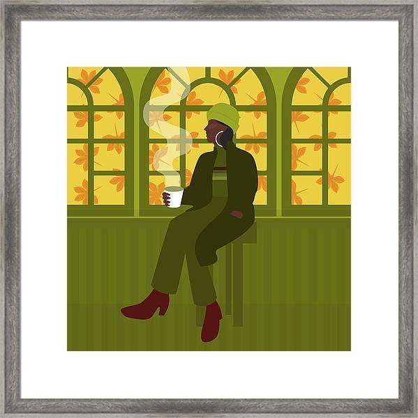 Autumnal Feeling Framed Print