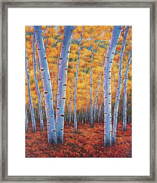 Autumn's Dreams Framed Print