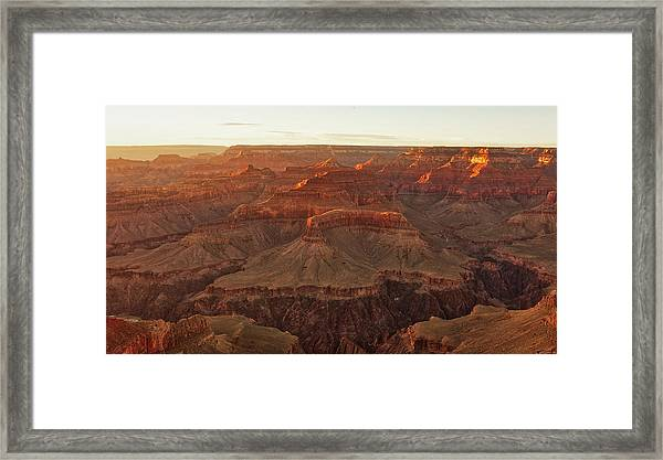 Awash With Light Framed Print