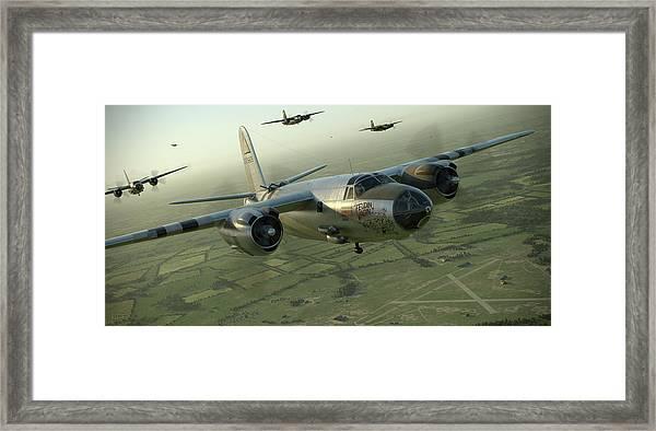 B-26 Feudin Wagin Framed Print