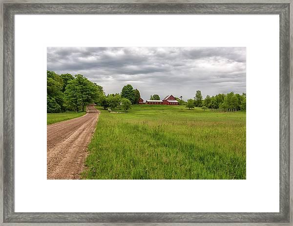 Backroad Farm 1 Framed Print