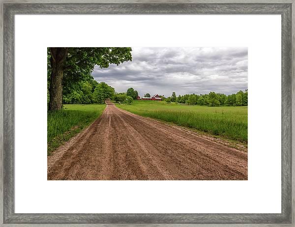 Backroad Farm 2 Framed Print