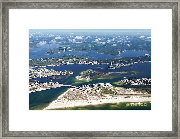 Backwaters 5122-a Framed Print