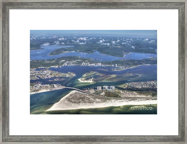 Backwaters 5122 Framed Print