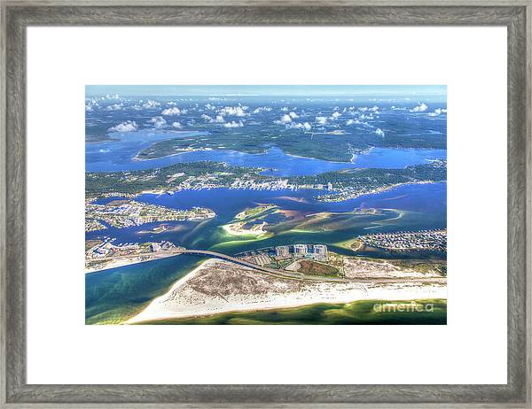 Backwaters 5122 Tonemapped Framed Print