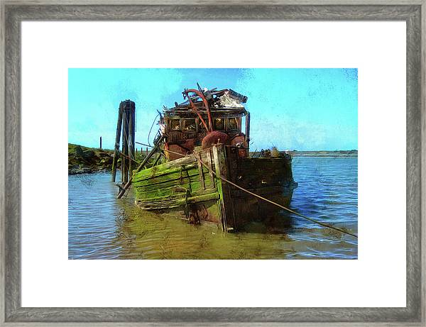 Bad Water Day Framed Print