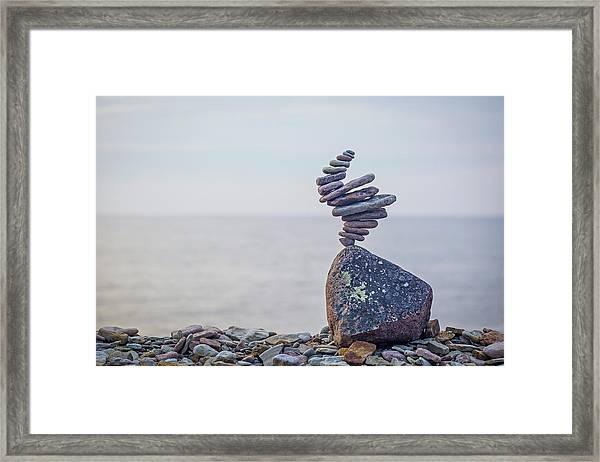 Balancing Art #11 Framed Print