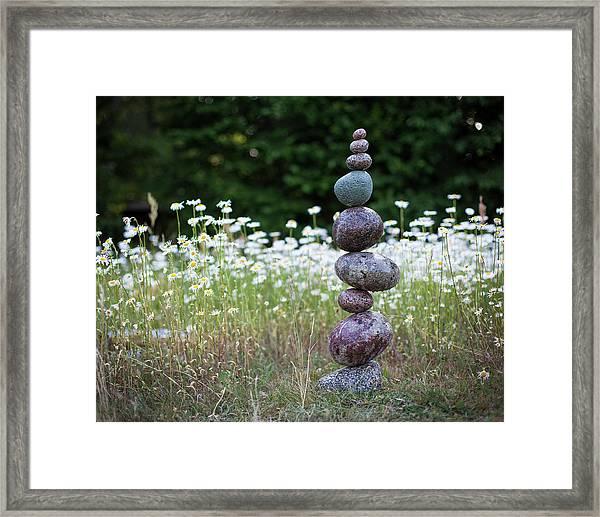 Balancing Art #15 Framed Print