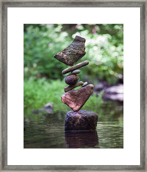 Balancing Art #16 Framed Print