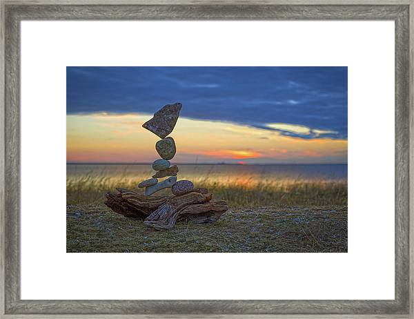 Balancing Art #17 Framed Print