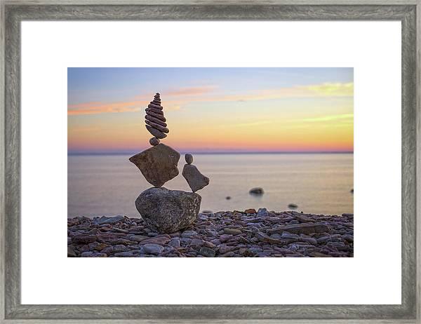 Balancing Art #21 Framed Print