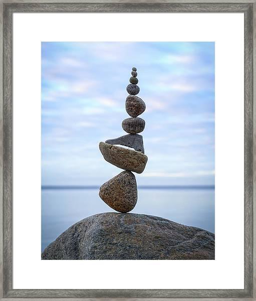 Balancing Art #24 Framed Print