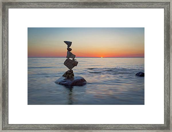 Balancing Art #27 Framed Print