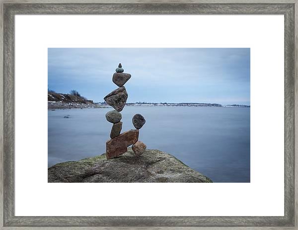 Balancing Art #28 Framed Print