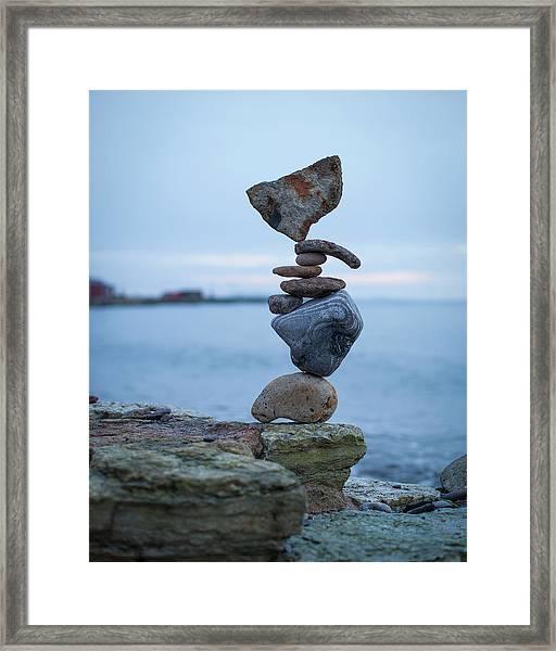 Balancing Art #31 Framed Print