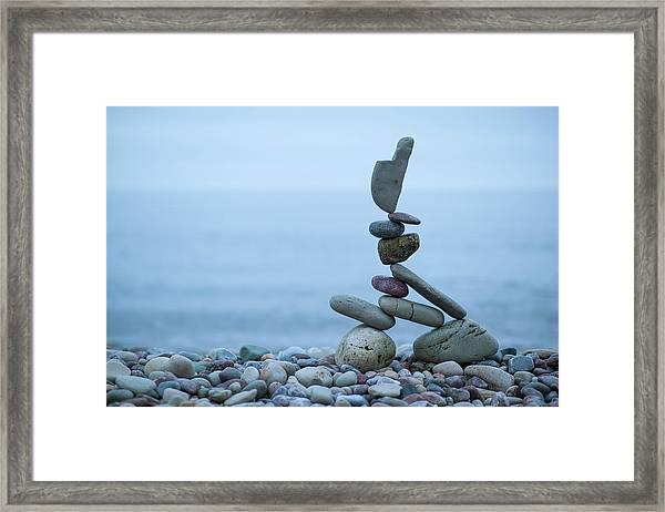Balancing Art #32 Framed Print