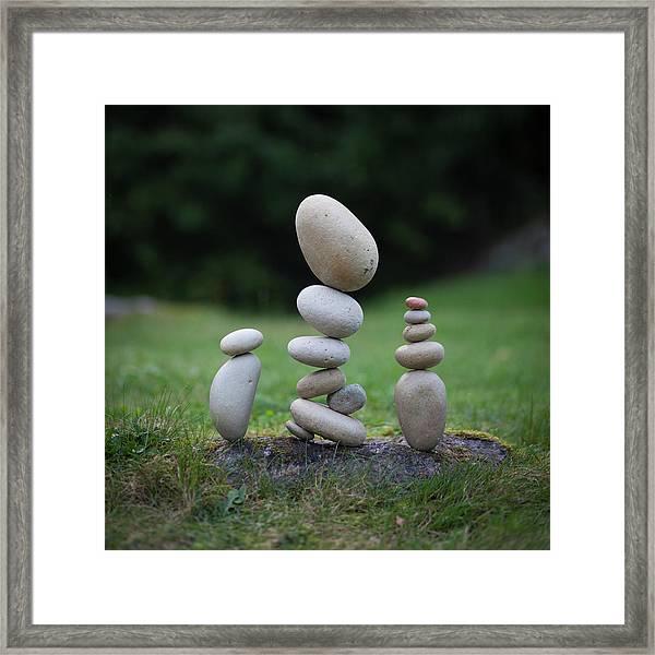 Balancing Art #35 Framed Print