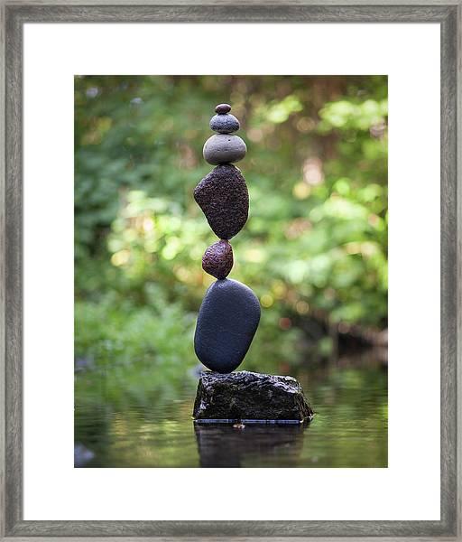 Balancing Art #37 Framed Print