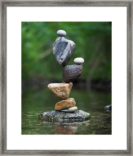 Balancing Art #38 Framed Print