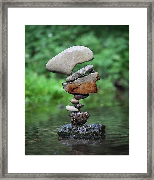Balancing Art #40 Framed Print