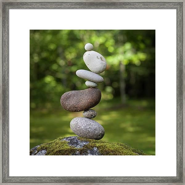 Balancing Art #41 Framed Print