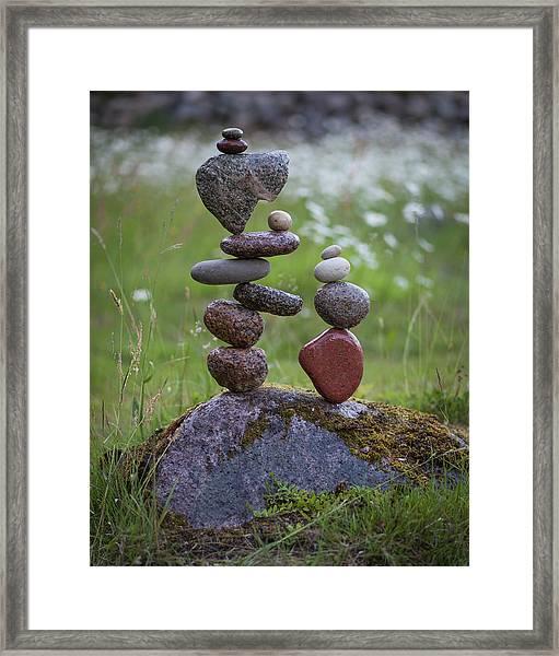 Balancing Art #45 Framed Print