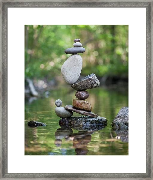 Balancing Art #47 Framed Print