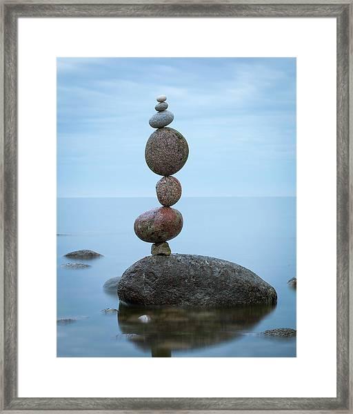 Balancing Art #48 Framed Print