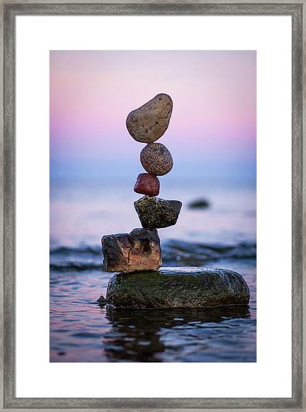 Balancing Art #51 Framed Print
