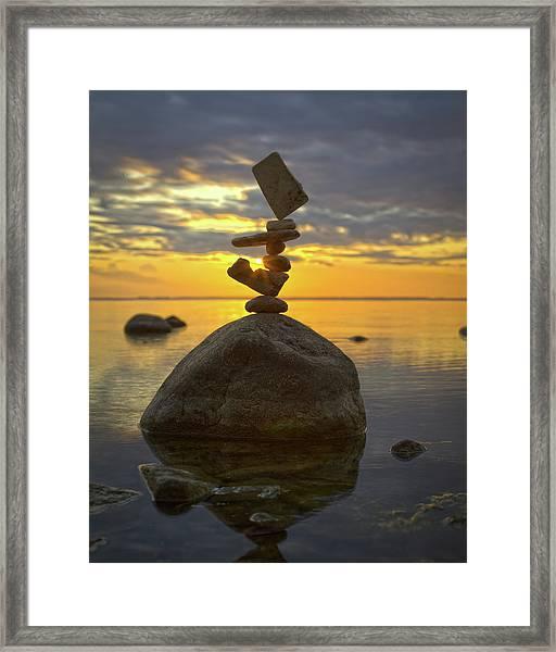 Balancing Art #52 Framed Print