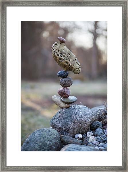 Balancing Art #53 Framed Print