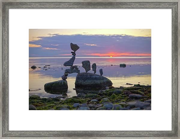 Balancing Art #54 Framed Print