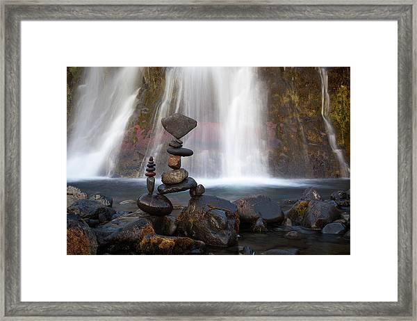 Balancing Art #56 Framed Print