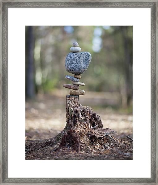Balancing Art #58 Framed Print