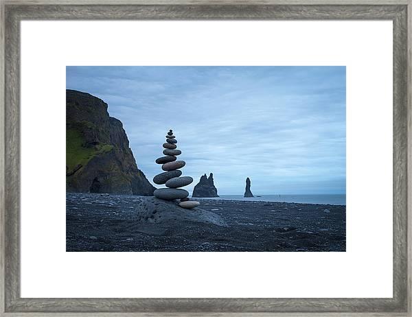 Balancing Art #59 Framed Print