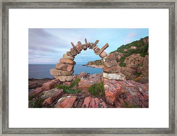 Balancing Art #60 Framed Print