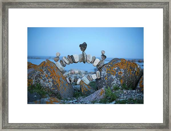 Balancing Art #62 Framed Print